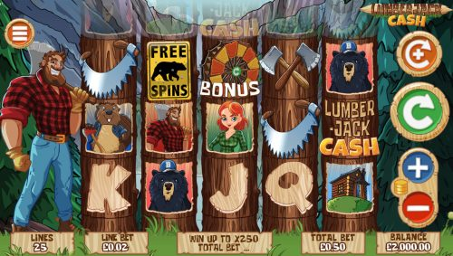 lumberjack cash lumberjack cash wood forest beaver Jill bear free free spins slot win big win mega win ultra win jack nudges nudges Pete pete's wild pete's wild bonus big bonus