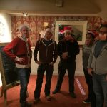 Christmas Dart game