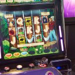 lumberjack cash buzz bingo retail slot game fun beaver gill wood bear saw axe cabin