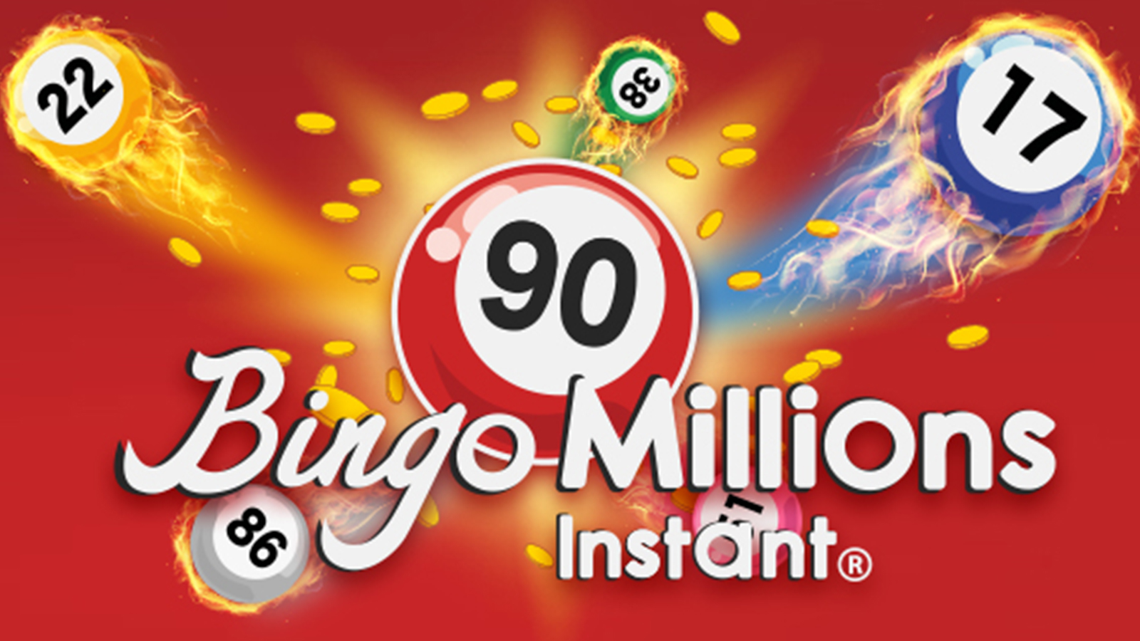 bingo millions million instant ball flames fast win money fun