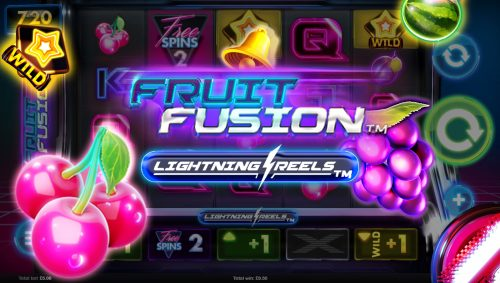 fruit fusion lightning reels cheery melon grape wild